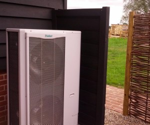 MCS accredited Air Source Heat Pump