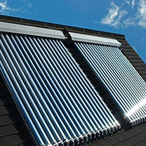 water supplying Solar Thermal panel