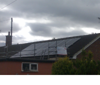 Home Solar Panels roof installation in Essex