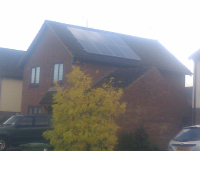 Essex Home Solar Panels roof installation