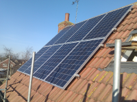 basildon Home Solar Panels roof installation in Essex