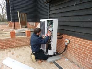 Air Source Heat Pump Installation price