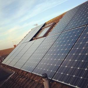 Solar panels in Essex